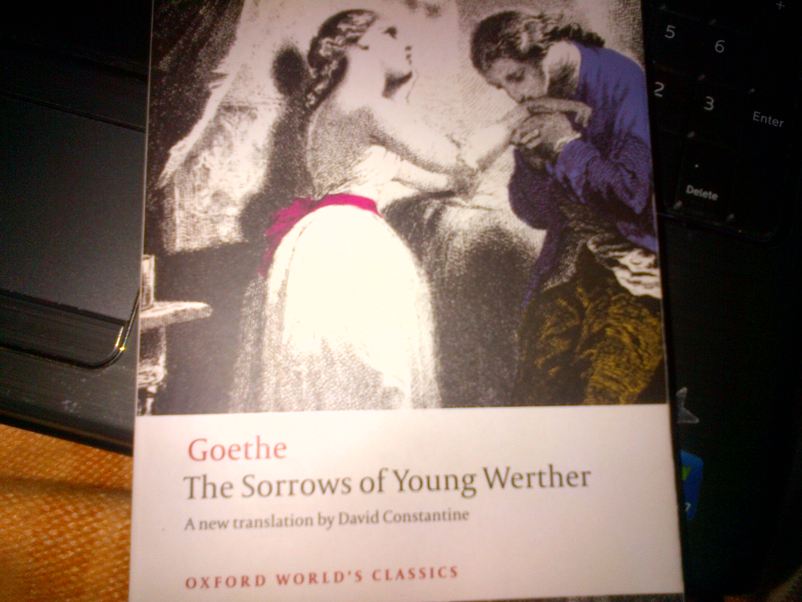 April Book (The Sorrows of Young Werther)