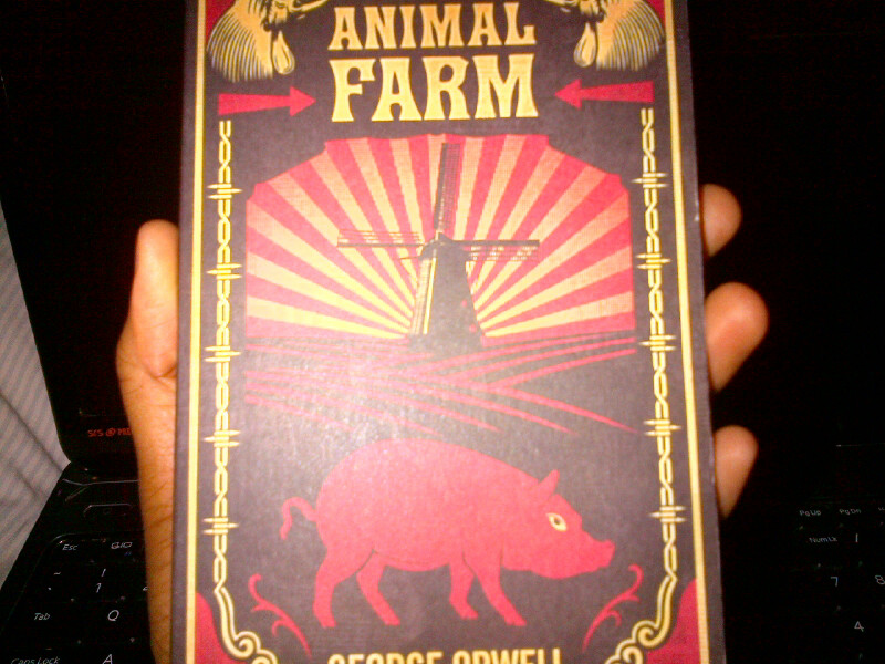 August Book 4 (Animal Farm)